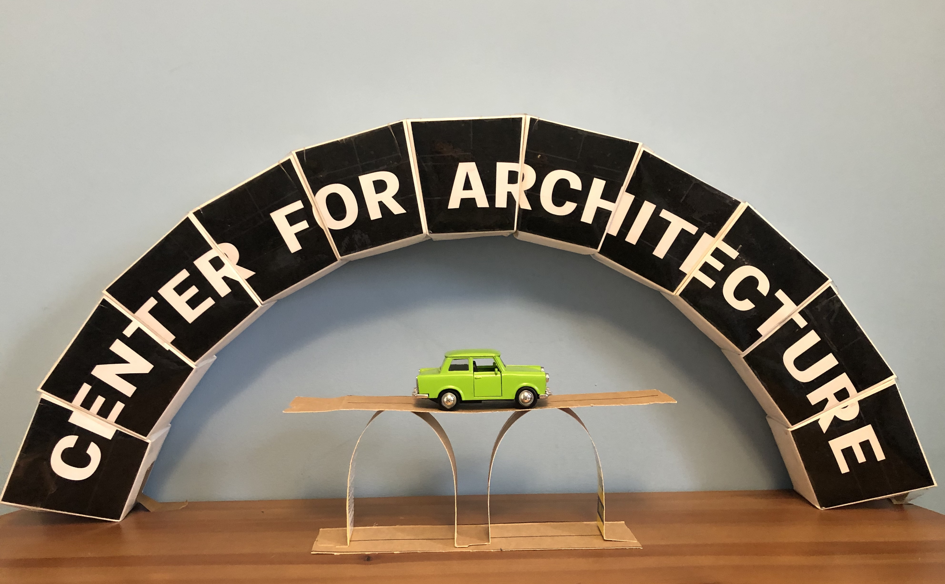 Architecture at Home: Arch Bridges at Center for Architecture