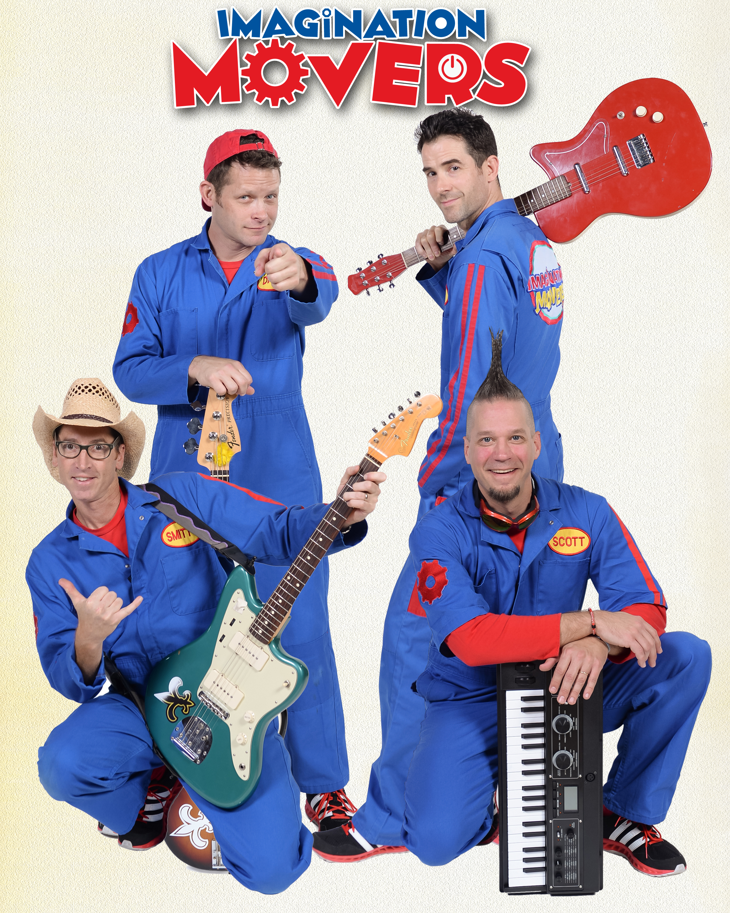 Imagination Movers at Paramount Hudson Valley Theater