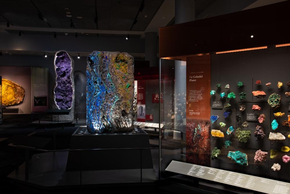 ALLISON AND ROBERTO MIGNONE HALLS OF GEMS AND MINERALS REOPENING at The American Museum of Natural History