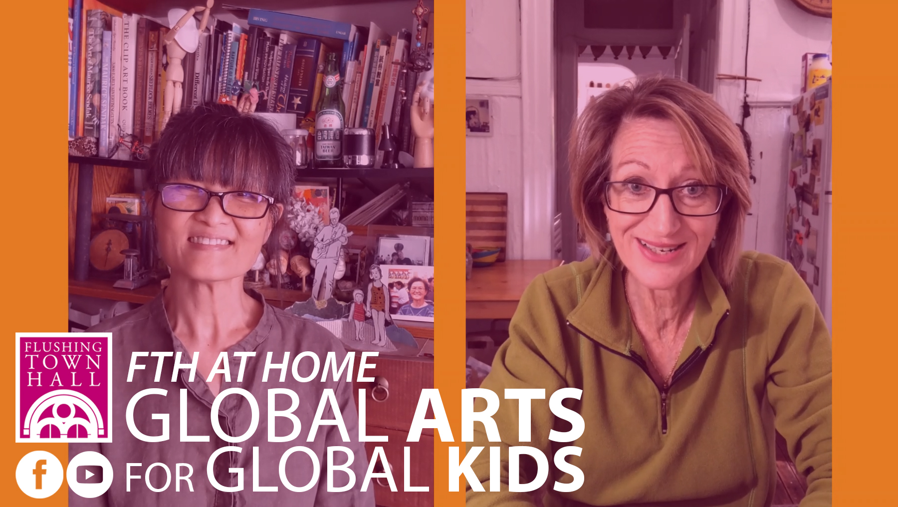 ONLINE FTH at Home: Global Arts for Global Kids at Flushing Town Hall