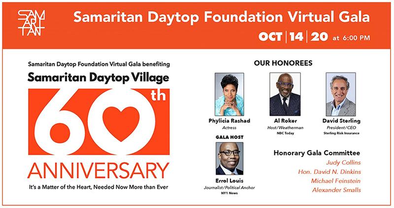 ONLINE Samaritan Daytop Foundation Virtual Gala at Samaritan Daytop Foundation