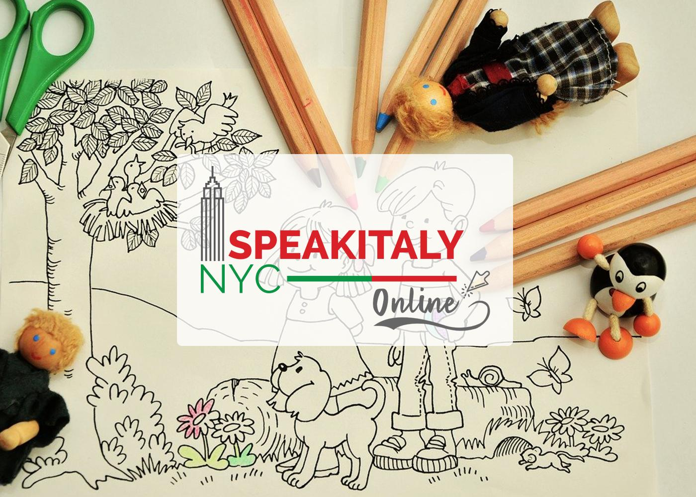 Italian Art and Crafts (Summer Edition) at Speakitaly NYC