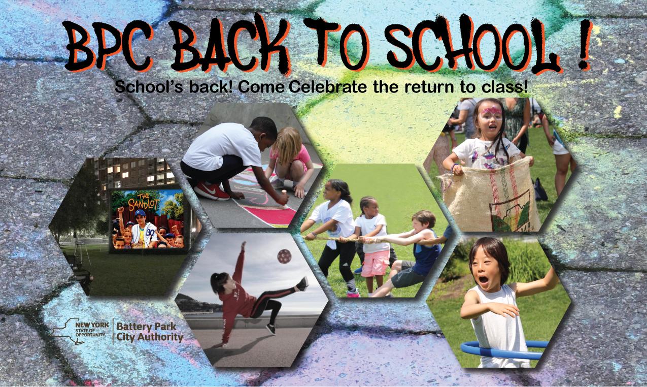 BPC Back to School at Nelson A. Rockefeller Park