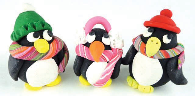Make a Penguin with Polymer Clay at The Rye Arts Center