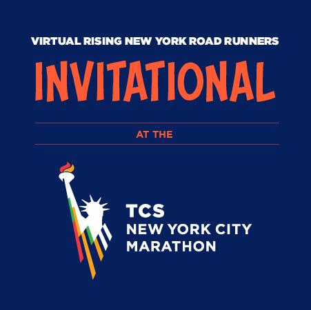 ONLINE Virtual Rising New York Road Runners Invitational at the TCS New York City Marathon at New York Road Runners