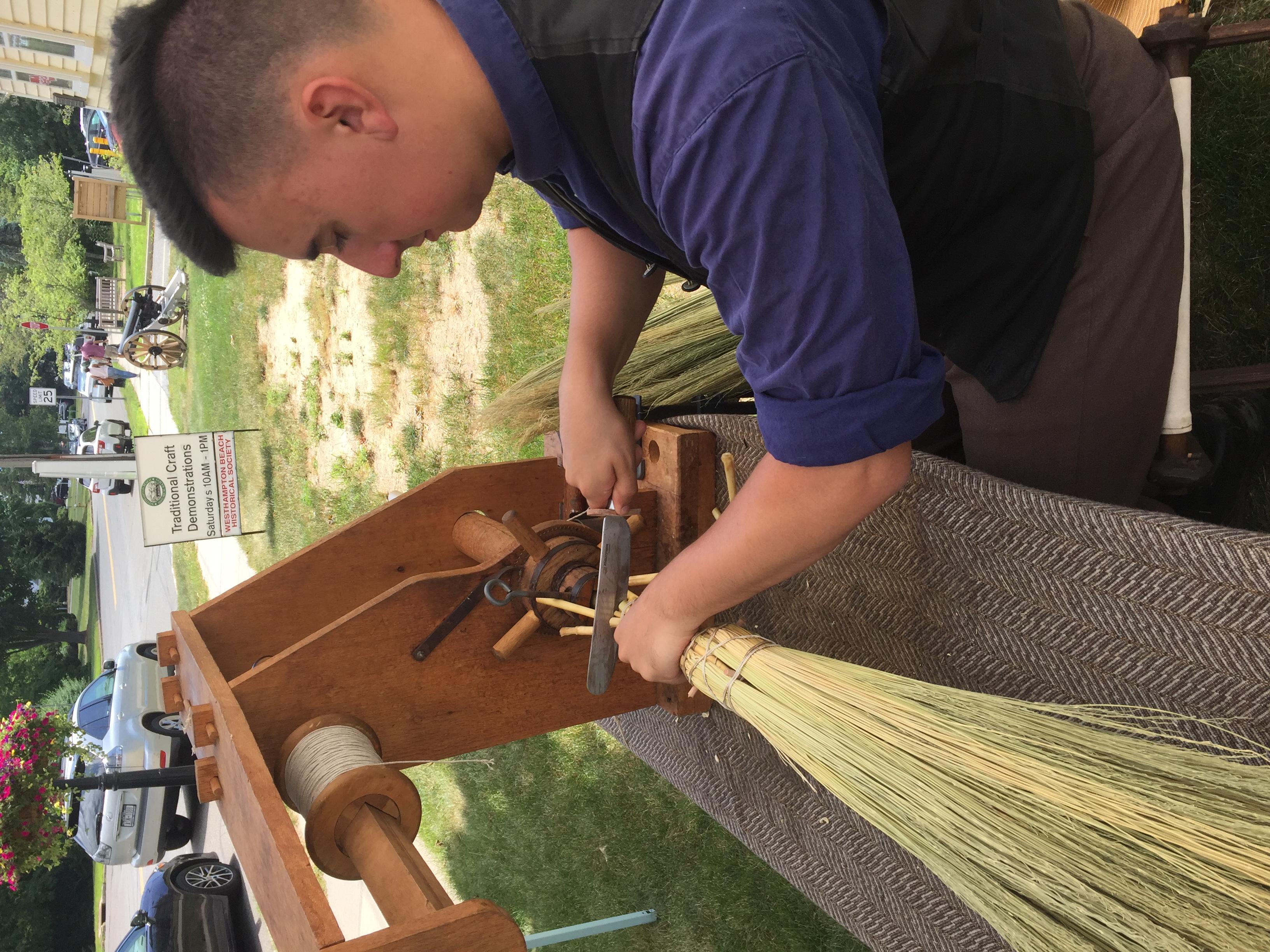 Broom Making & Historic Jam Making at Westhampton Beach Historical Society