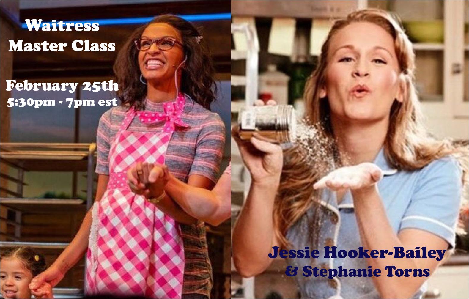 ONLINE Waitress the Musical Broadway Masterclass at Broadway Bound Kids