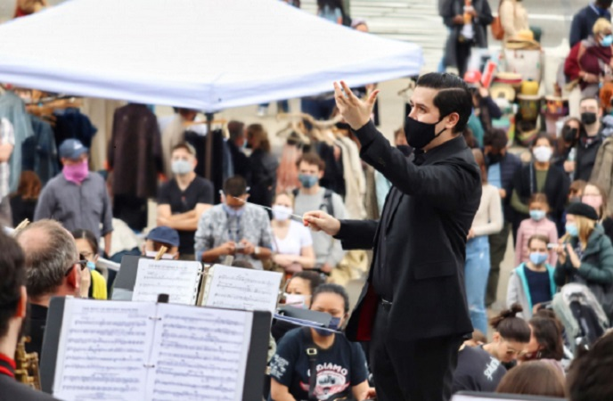 Pop-Up Performance: Brooklyn Symphony Orchestra at Brooklyn Museum