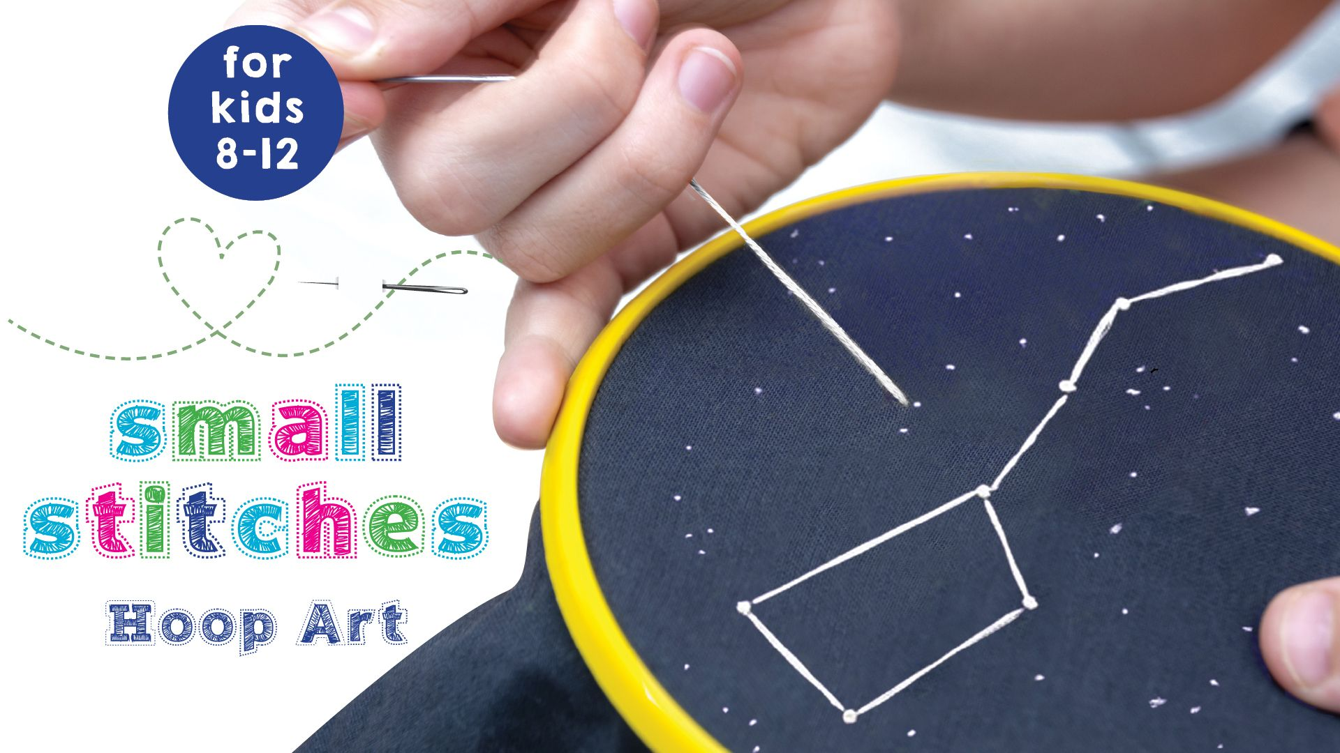 Small Stitches: Hoop Art at Patchogue-Medford Library