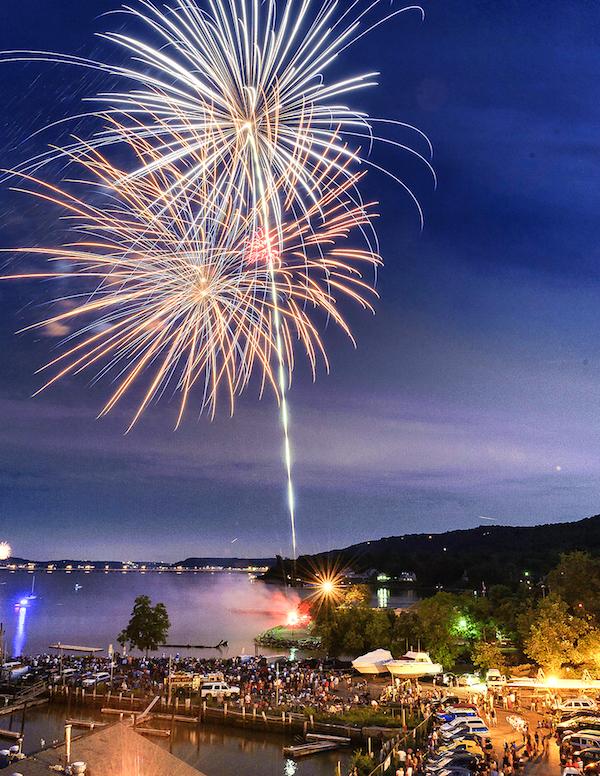 Nyack's 4th of July Fireworks! at Nyack Memorial Park