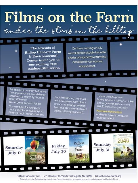 2040 - Films on the Farm at Hilltop Hanover Farm
