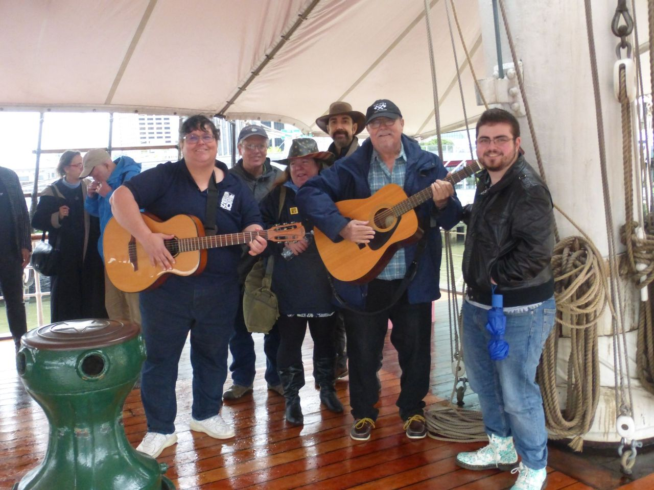 ONLINE Virtual Sea Chanteys and Maritime Music Broadcast at South Street Seaport Museum