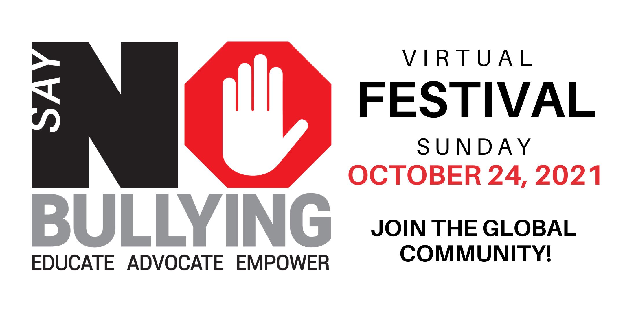 6th Annual Say NO Bullying (Virtual) Festival at Say No to Bullying