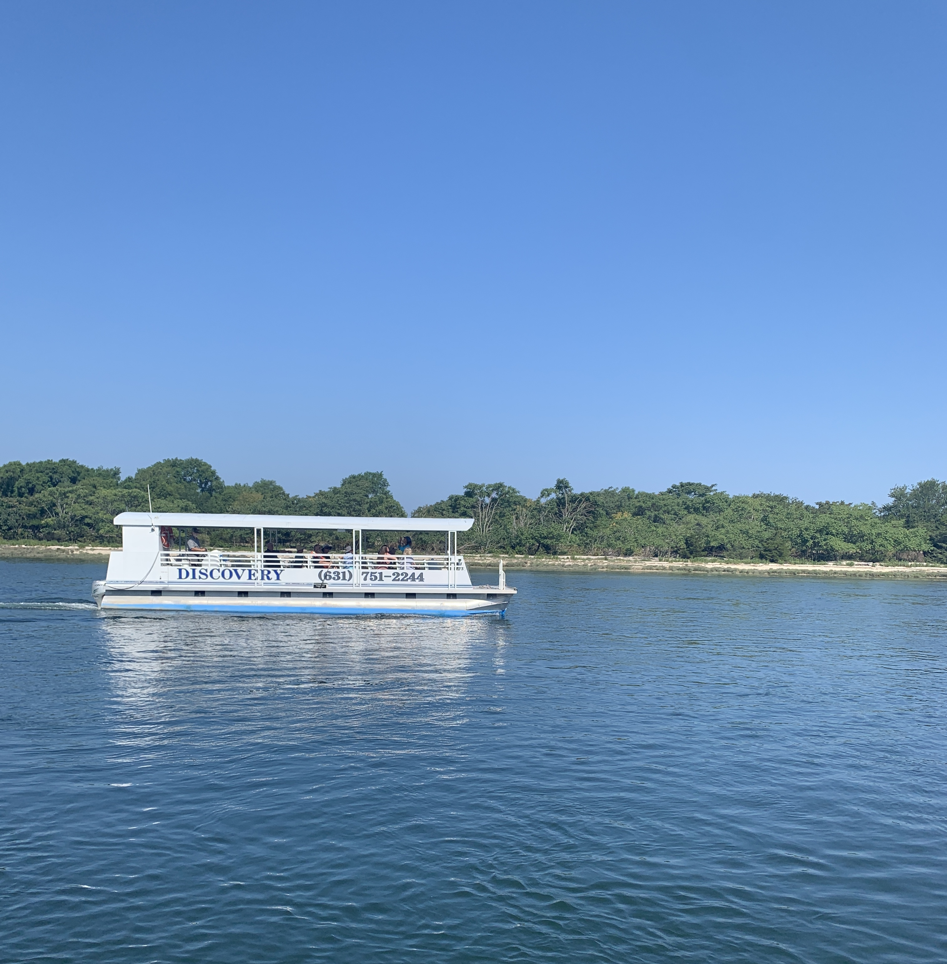 The Discovery Pontoon Cruise at Ward Melville Heritage Organization