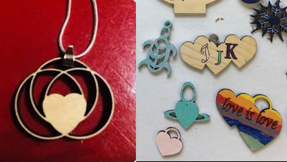 IN PERSON Valentine's Day Workshop: Laser Cutting with Glowforge! at The Rye Arts Center