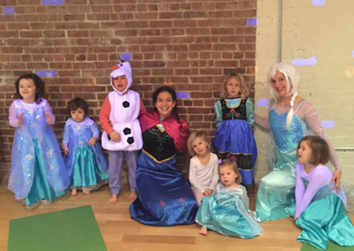 ONLINE Frozen Yoga Adventure 2 on ZOOM! at Karma Kids Yoga