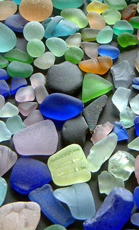 ONLINE Sea Glass Ornament Making Virtual Workshop at The Whaling Museum & Education Center