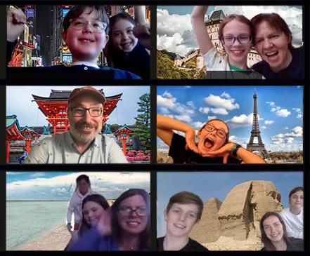 ONLINE Watson Adventures' Around the World Virtual Scavenger Hunt for Kids at Watson Adventures