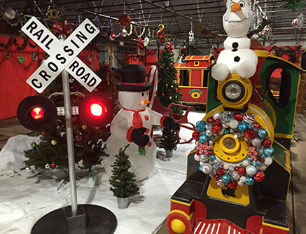 Holiday Winter Wonderland at White Post Farms of Melville