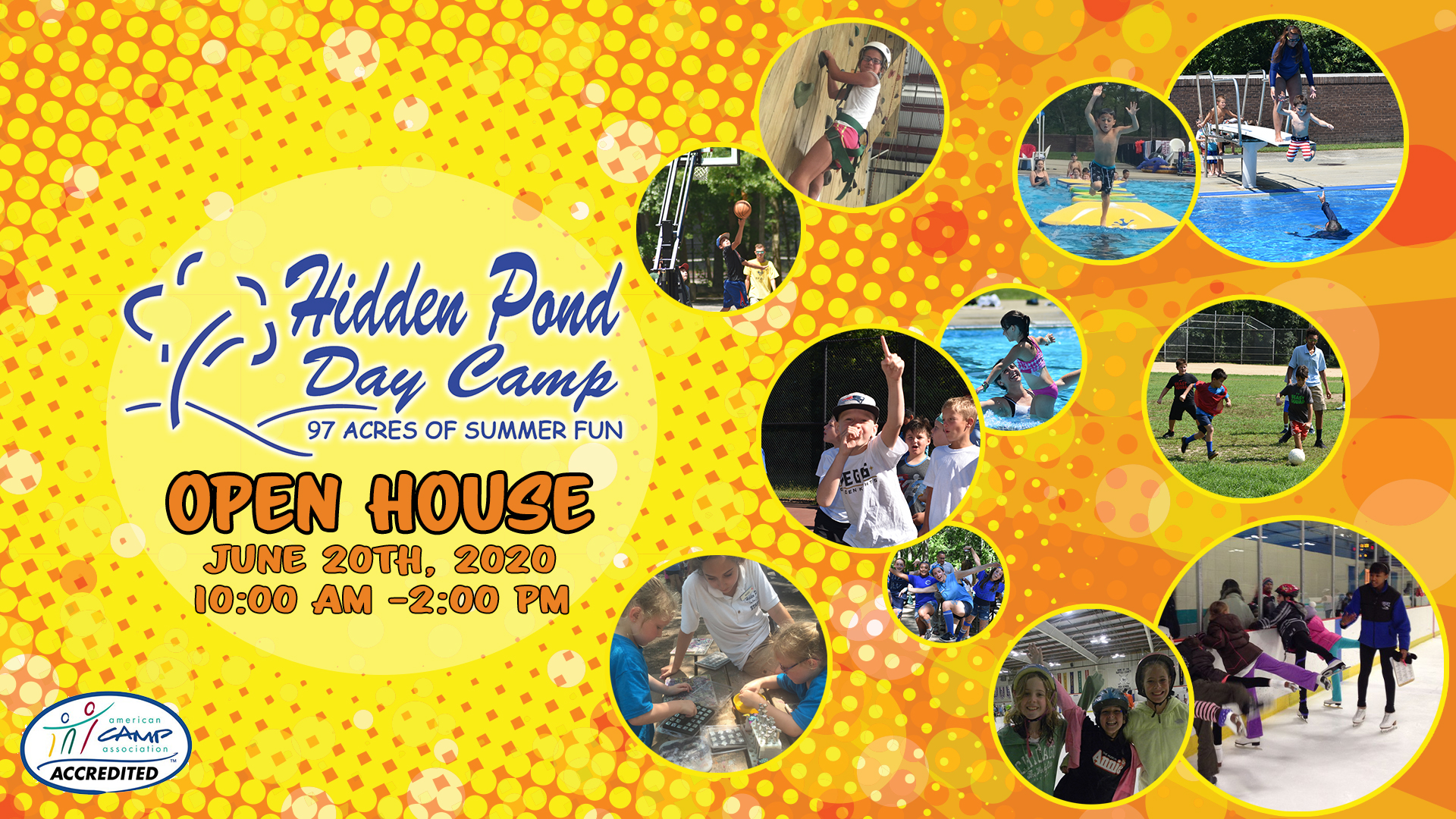 Hidden Pond Day Camp Open House at Hidden Pond Day Camp