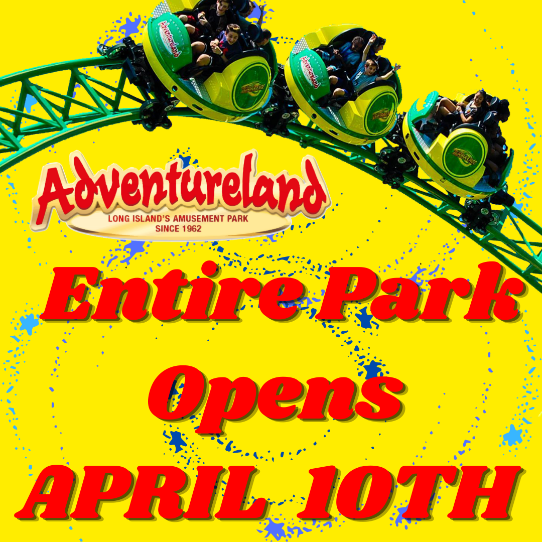 Adventureland's Opening Weekend 2021 at Adventureland