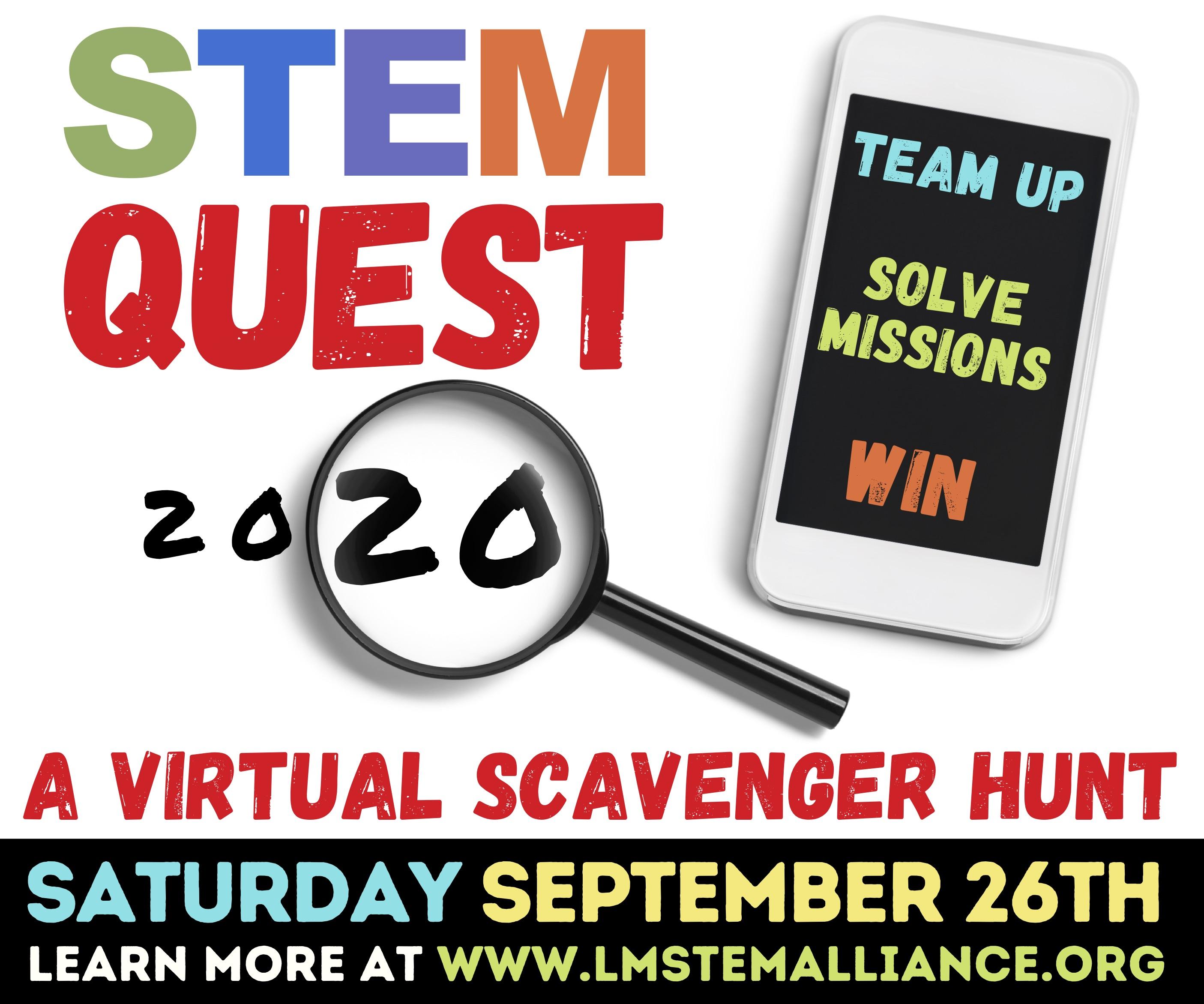 ONLINE STEM Quest 2020 at THE STEM ALLIANCE OF LARCHMONT-MAMARONECK