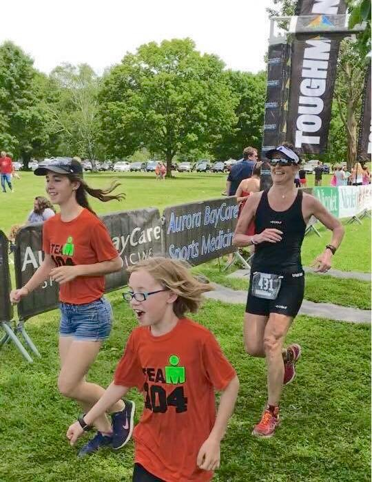 Toughkids and Toughman triathlon at Welch Harriman State Park