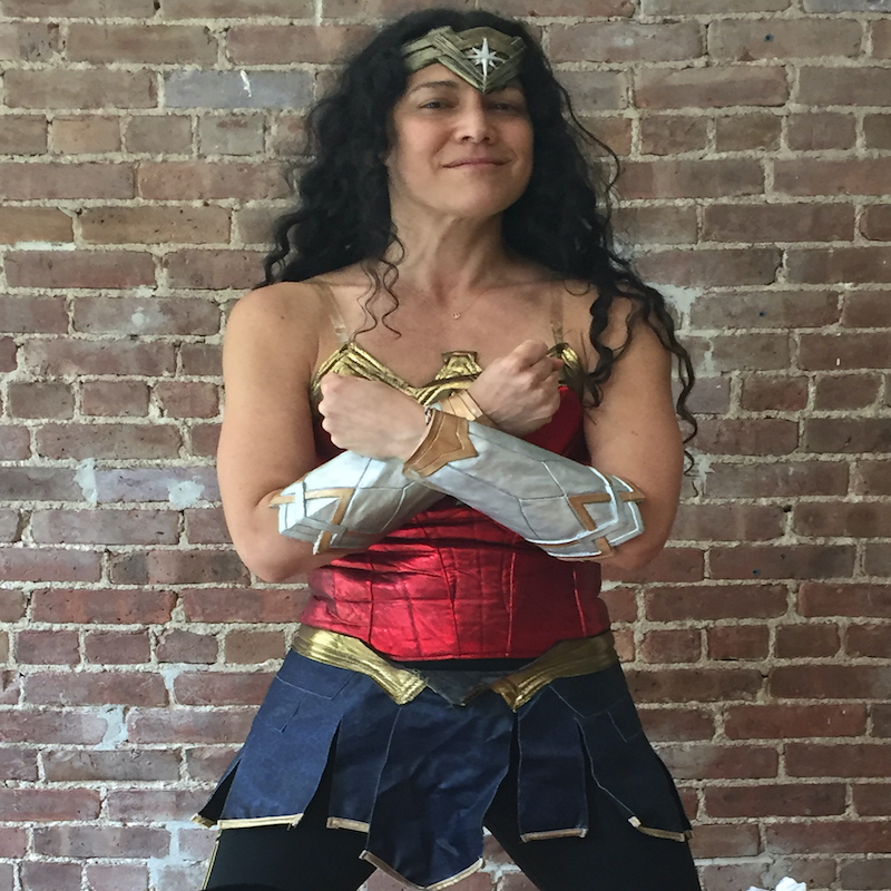 ONLINE Wonder Woman Yoga Amazon Training on Zoom! at Karma Kids Yoga