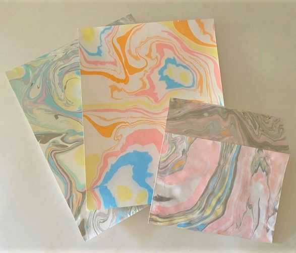 Suminagashi Paper Marbling Workshop at Pelham Art Center