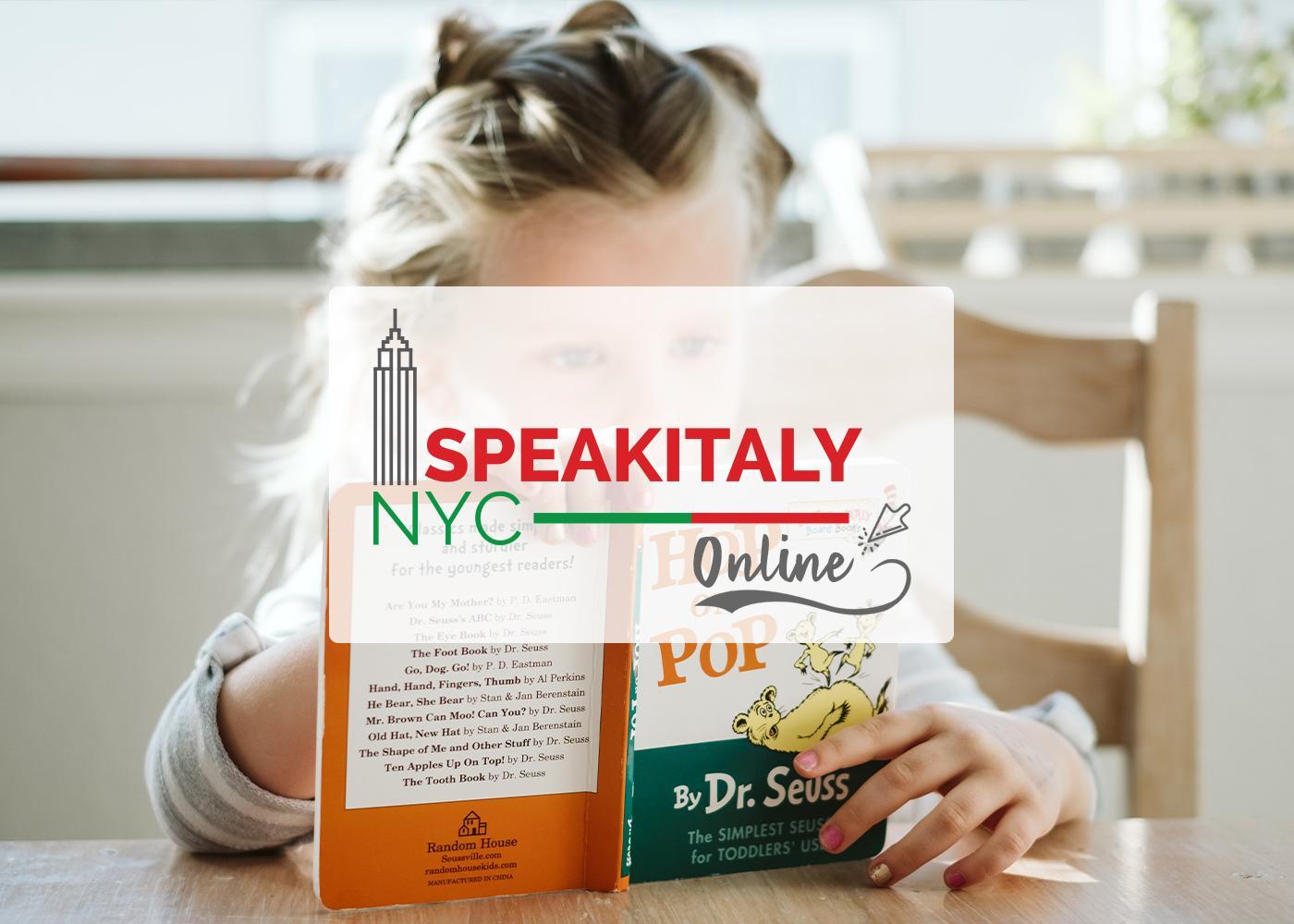 Italian Storytelling (Summer Edition) at Speakitaly NYC