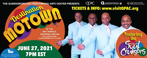 Sensational Soul Cruisers - A Drive-In Concert at Queensborough Performing Arts Center
