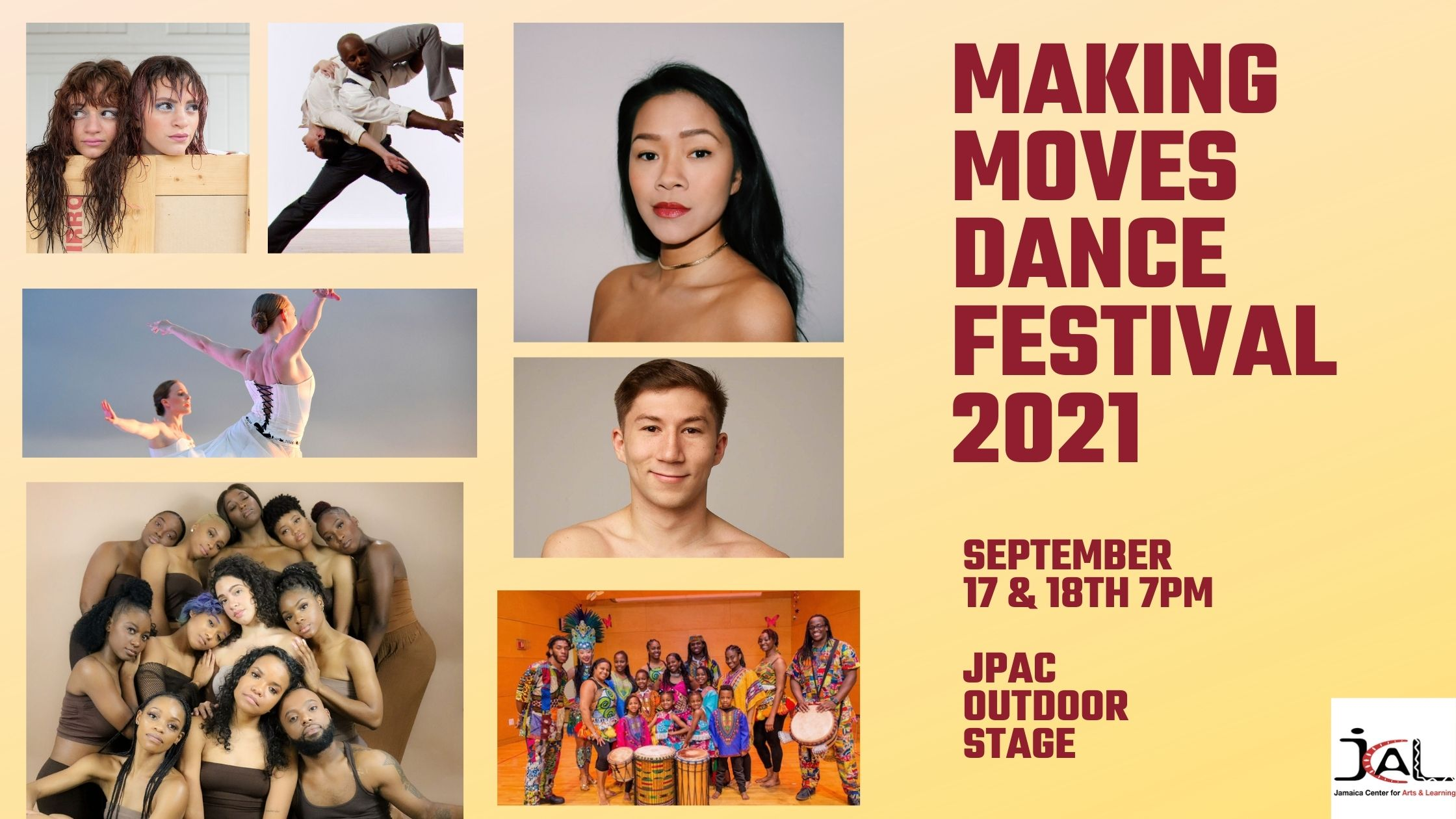 Making Moves Dance Festival 2021 at Jamaica Performing Arts Center