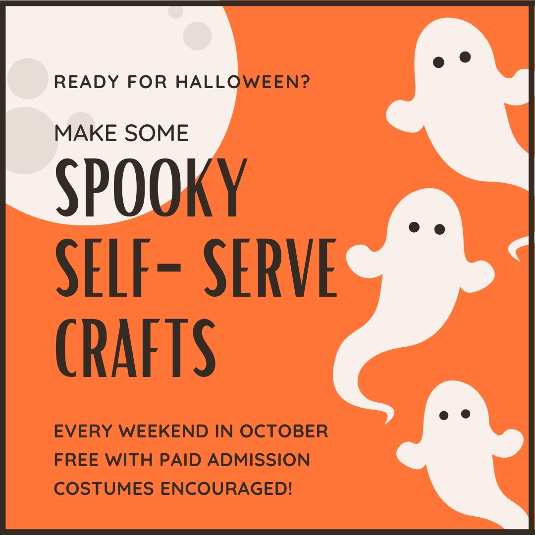 IN PERSON Spooky Weekend Crafts at The Whaling Museum & Education Center