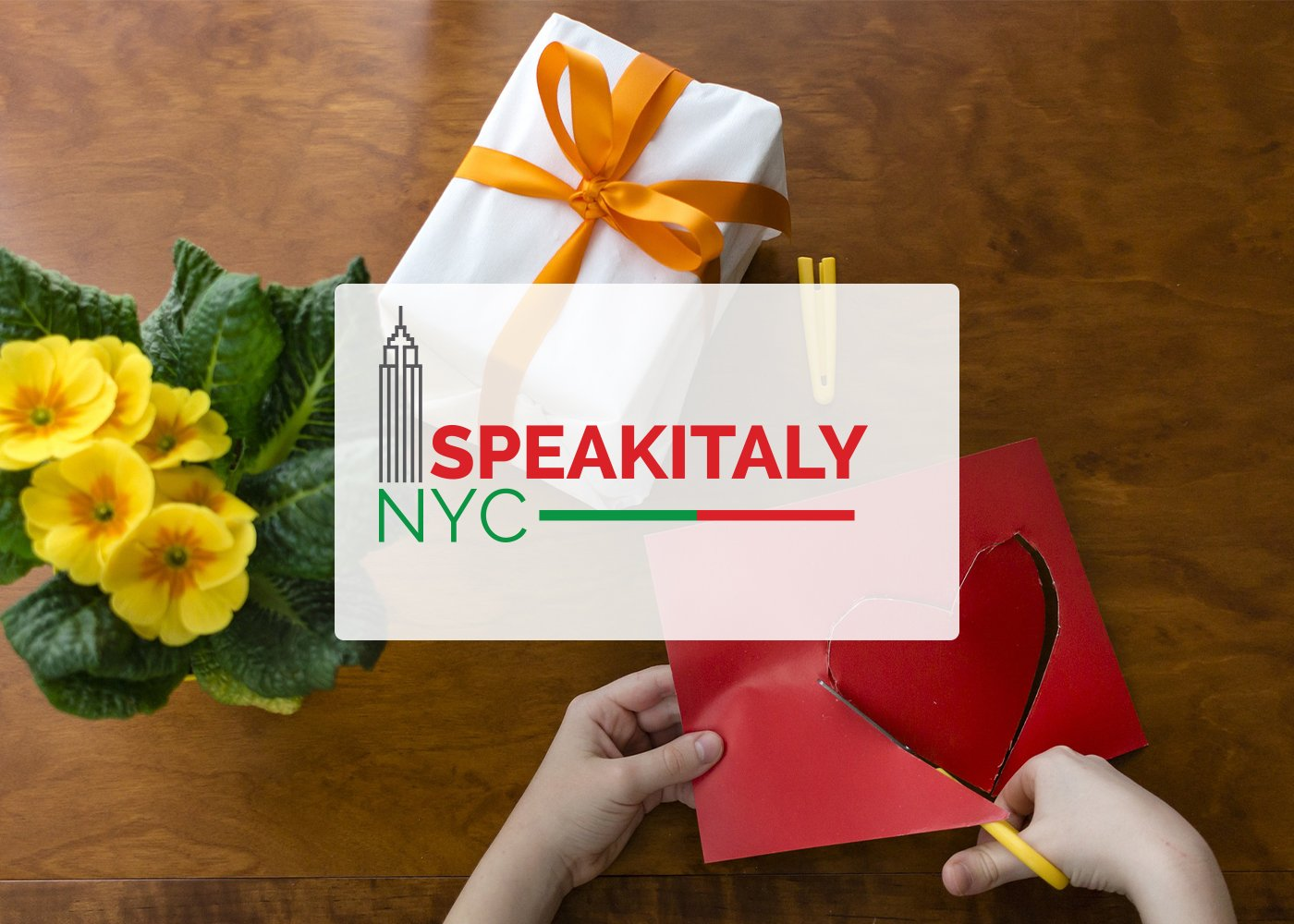 ONLINE San Valentino Workshop at Speakitaly NYC