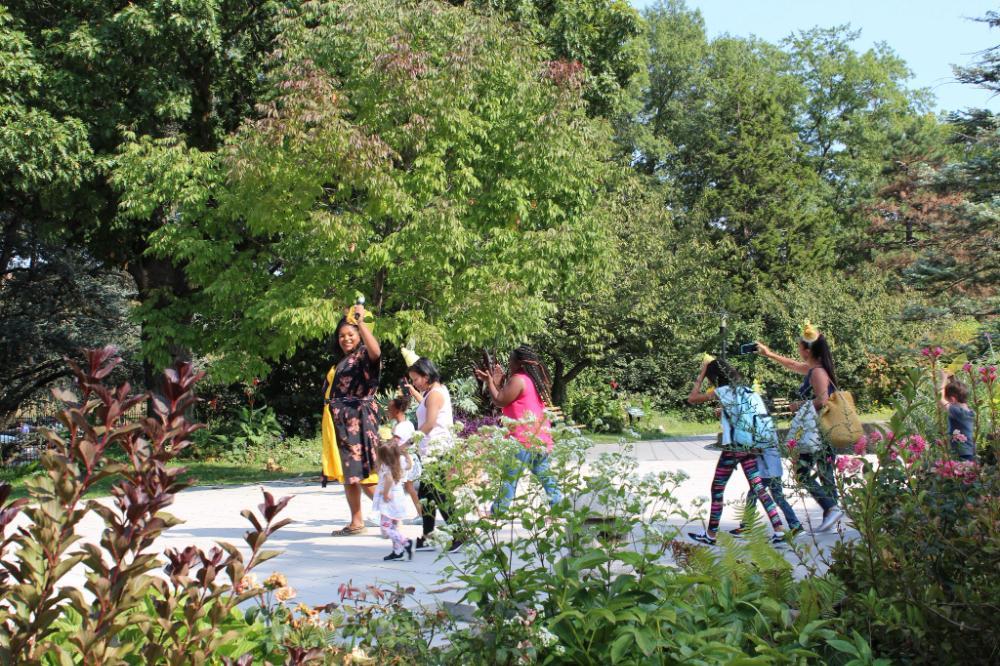Woodland Adventures: Moss Madness! at Queens Botanical Garden