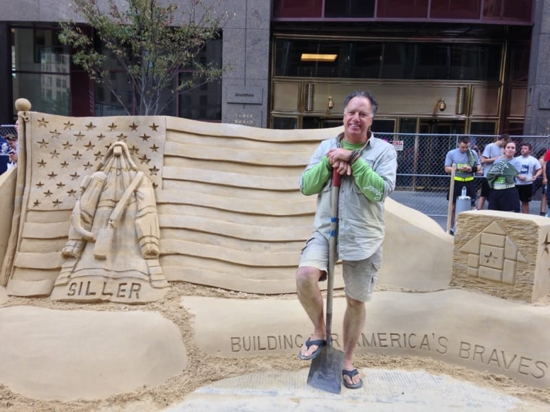 Sand Celebration at Brookfield Place