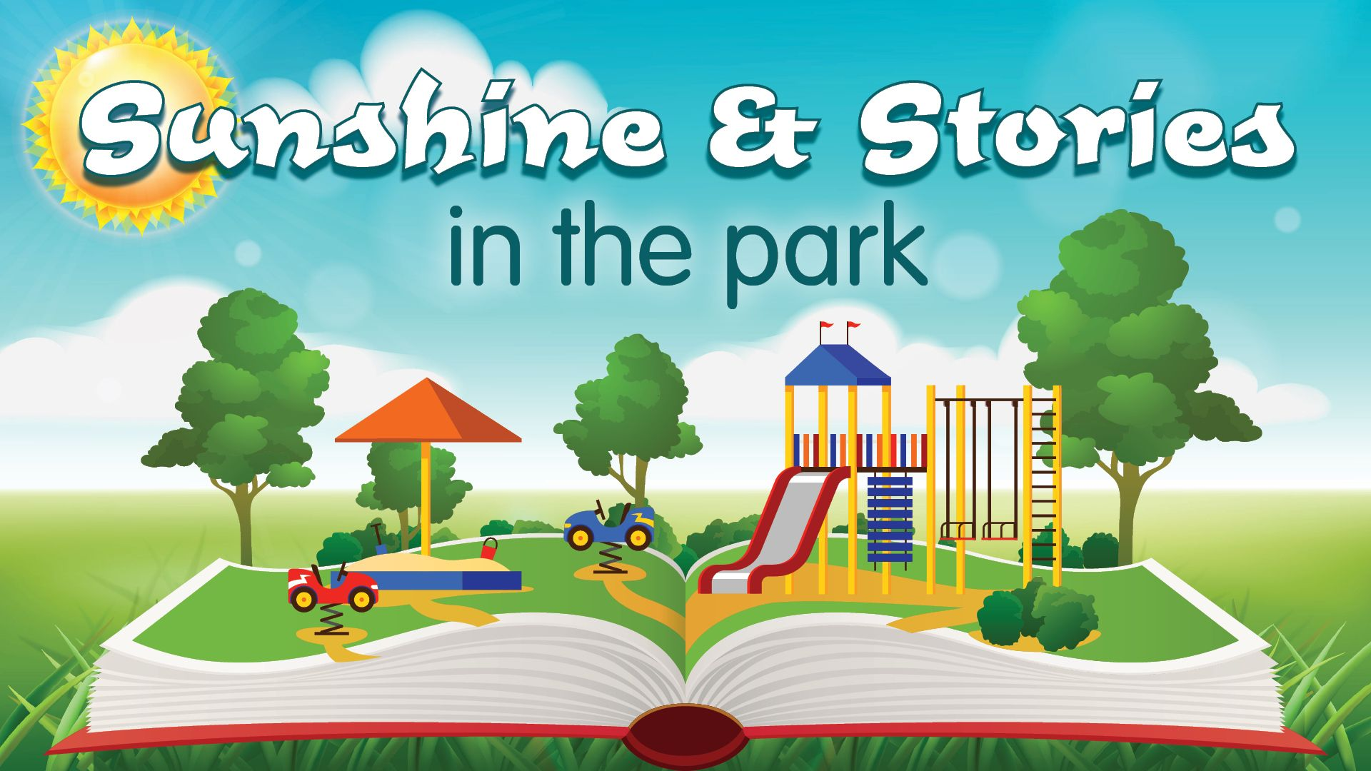 Sunshine and Stories in the Park at Patchogue-Medford Library