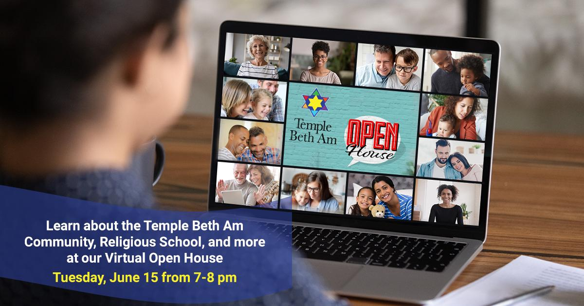 Temple Beth Am Virtual Open House at Temple Beth Am