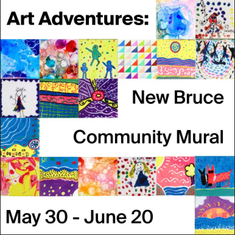 Art Adventures: New Bruce Community Mural at Bruce Museum
