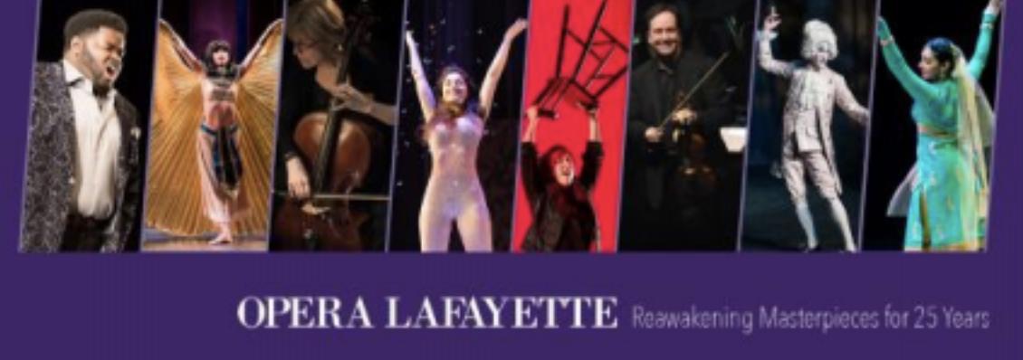Opera Lafayette presents: Fête de la Musique at Opera Lafayette