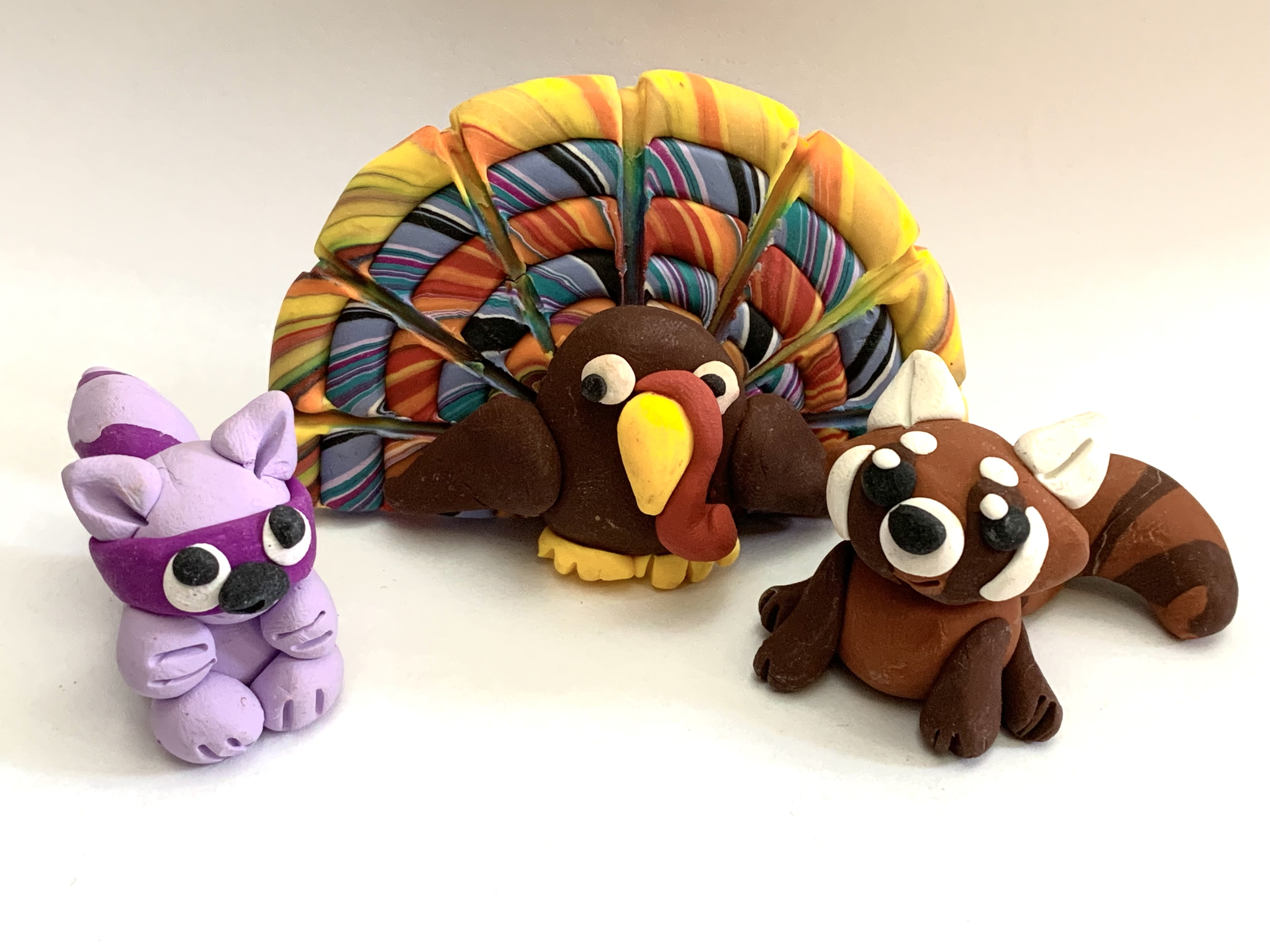 Make A Thanksgiving Turkey With Polymer Clay at The Rye Arts Center