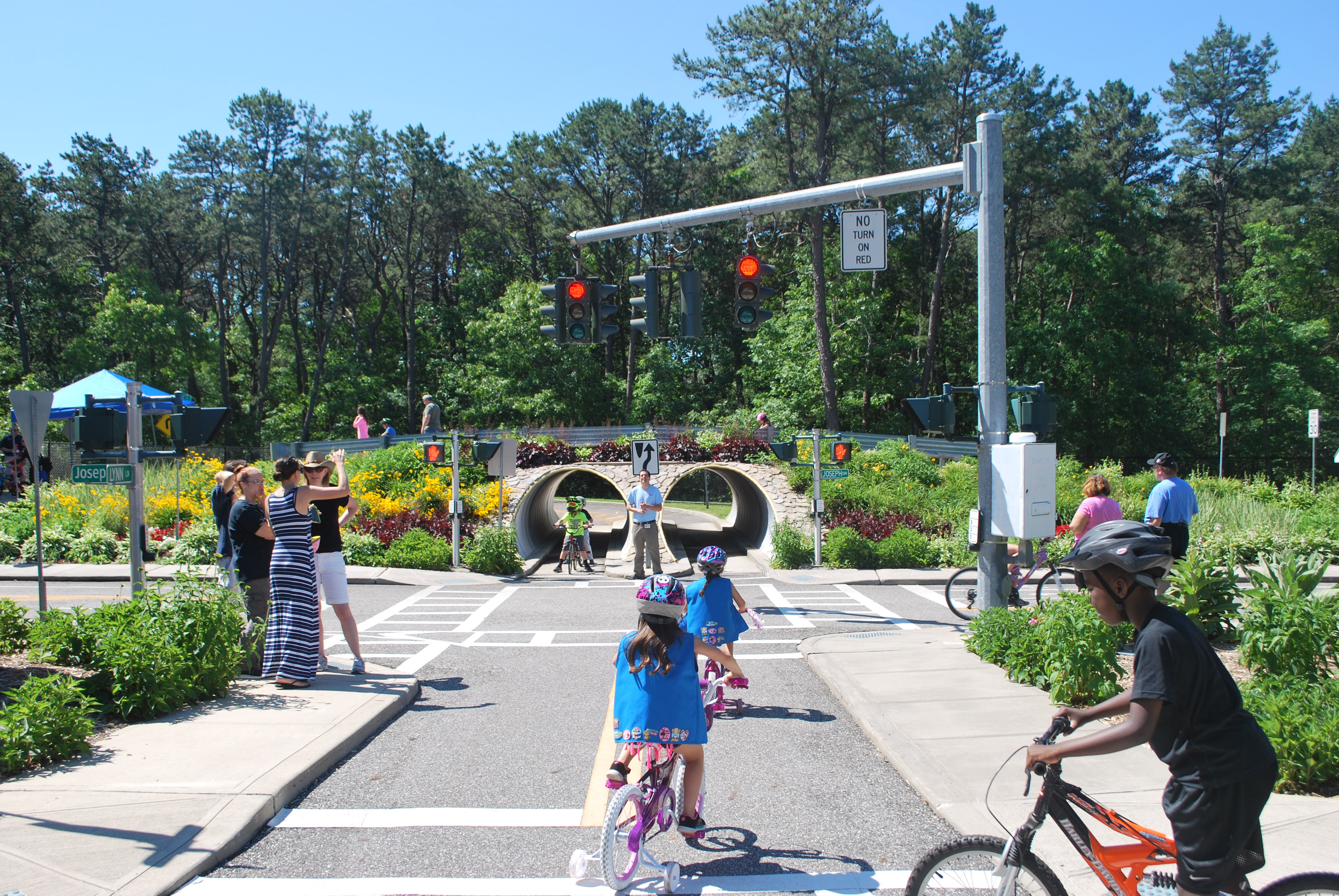 Bicycle Rodeo at Brookhaven's Safety Town