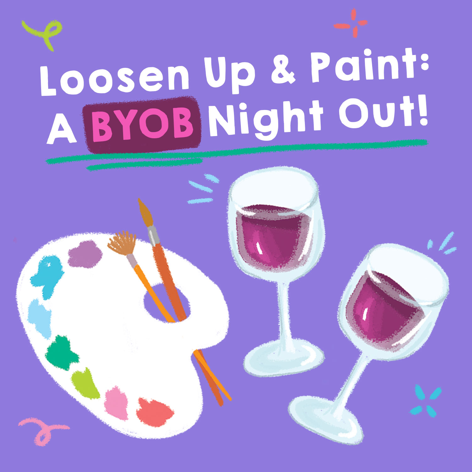 IN-PERSON: BYOB & Paint at The Rye Arts Center