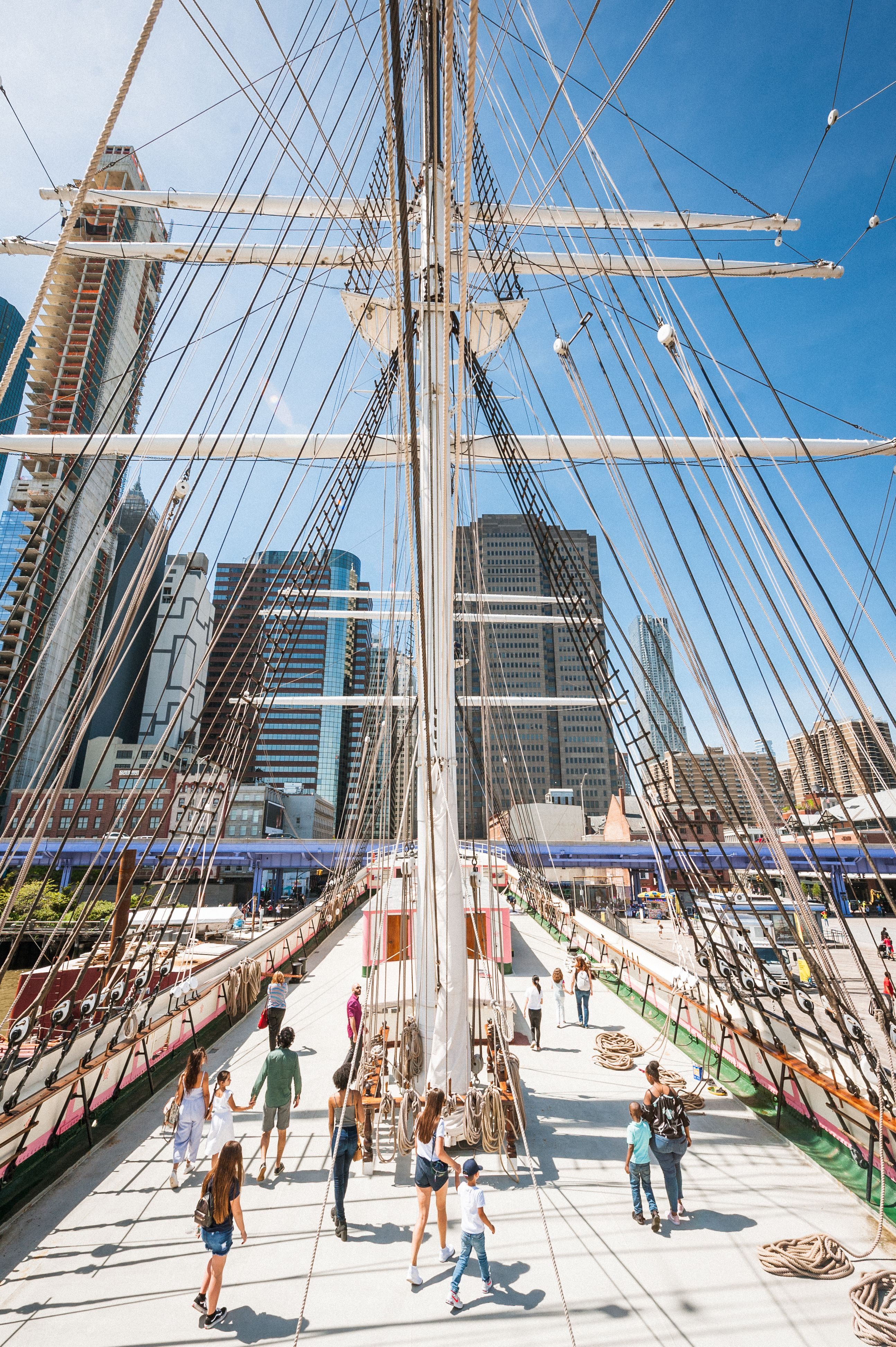 IN PERSON FREE Entry to 1885 Tall Ship Wavertree at South Street Seaport Museum