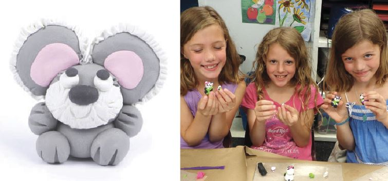 IN-PERSON Make a Koala with Polymer Clay at The Rye Arts Center