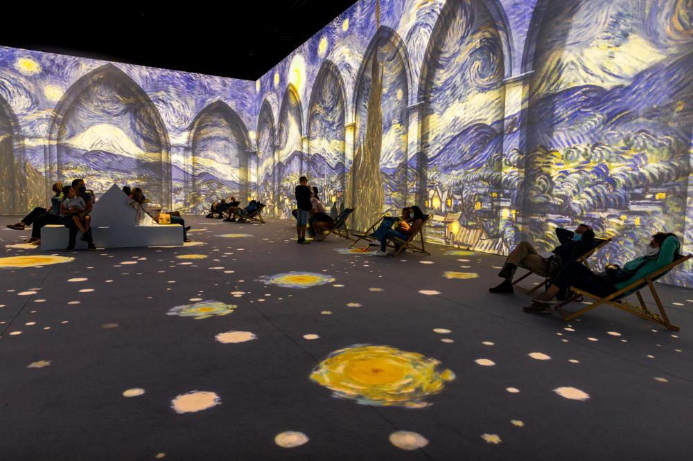 Van Gogh: The Immersive Experience at Skylight on Vesey