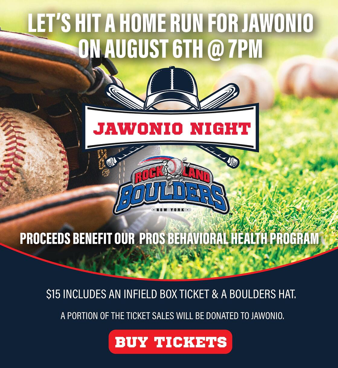 Jawonio Night at Rockland Boulders at Provident Bank Park