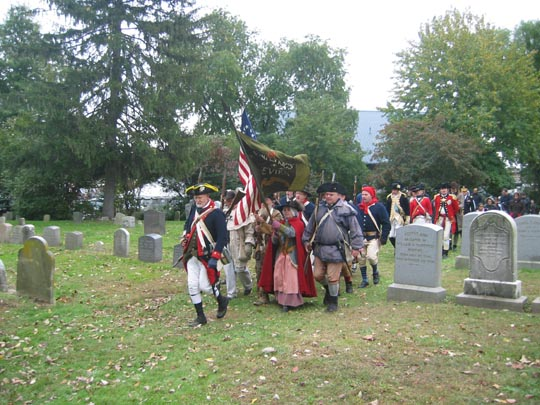 Battle of Pell's Point Encampment at St. Paul's Church National Historic Site