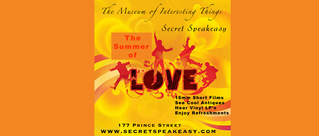 ONLINE and IN PERSON Rock & Roll Secret Speakeasy at The Museum of Interesting Things