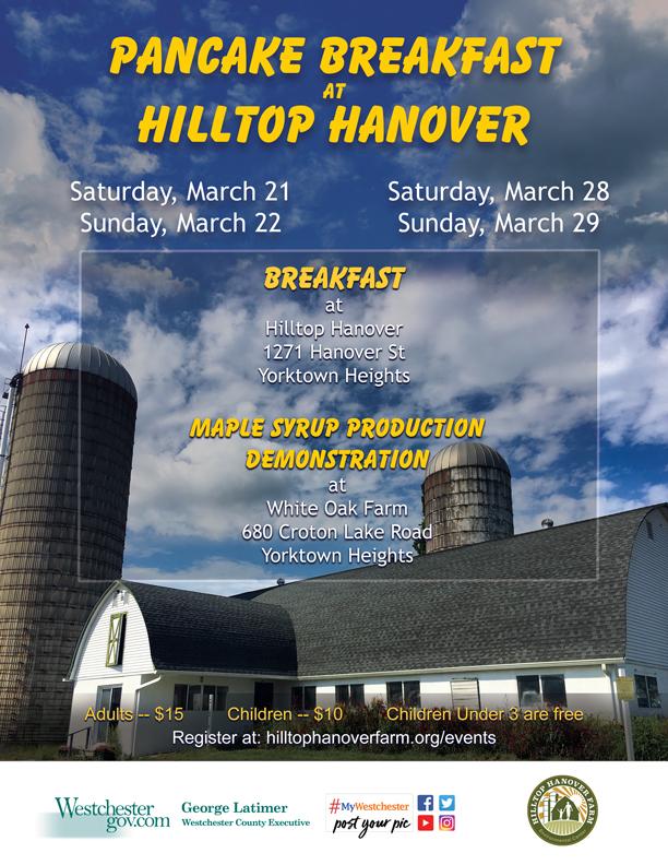 Pancake Breakfast at Hilltop Hanover Farm & Environmental Center